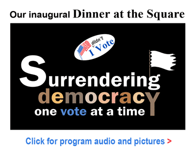 Surrendering Democracy One Vote at a Time