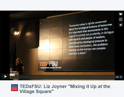 TEDxFSU: Mixing it up at The Village Square