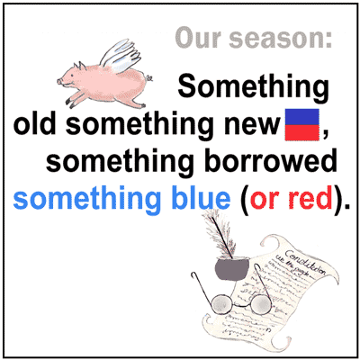 Something Red, Something Blue